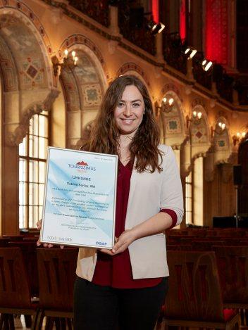 Tourissimus Spezial Preisträgerin Sabine Sarlay